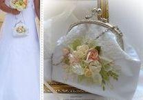 Menyasszonyi táska. Alkalmi és esküvői táska. Színházi táska.Kézműves táskák. / Kézműves  alkalmi táskák, egyedi kézimunkával. Menyasszonyi táska, színházi táska, alkalmi táskák egyedi tervezéssel, rendelésre. Facebook: Ilkaművek.