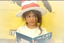 Read Across America  / ...and World Read Aloud Day--two events we love to participate in to support literacy and celebrate the magic of books.