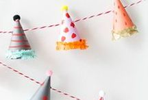 D.I.Y Party / Feeling crafty? Get inspired with lots of fun DIY party decorations you can make at home.