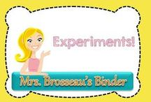 Experiments! / This board is for Science Experiments for Students K-12.  Pin experiment ideas or products.