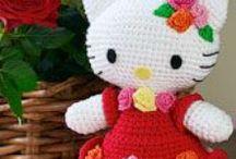 Hækle - Hello Kitty