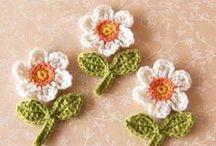 Hæklet - Blomster