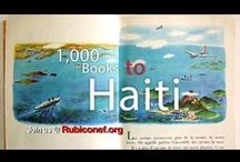 1000 Books to Haiti / Our goal is to collaborate with schools around the world through book drives, fundraising and donations to bring books to students in Haiti. In this inaugural year of the program, our hope is to send an initial 1000 books. We hope you'll join us! http://www.rubiconef.org/ #1000bookstohaiti