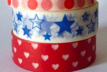 Red,White and Blue / Patriotic and/ or things of red,white and blue / by Stacey Walker