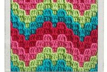 Háčkování vzorky - Crochet