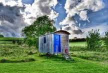 Our Shepherds Hut / A most romantic and glorious place to spend a night or two......