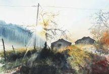 WATERCOLORS by Emmanuele Cammarano / watercolors