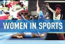 Women in Sports / Celebrating women's collegiate sports.