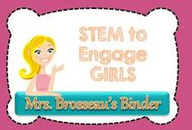 STEM to engage GIRLS / STEM activities to engage GIRLS!