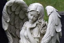 Beautiful Angel Statues from around the World / I love beautiful Angel statutes and sculptures from around the world. These are some of the beautiful images that I have come across.