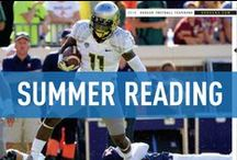 Summer Reading / Get ready for college football season with the sports fan's guide to summer reading.