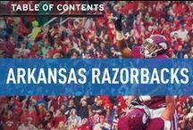 Arkansas Razorbacks / Official University of Arkansas Athletics Publications, produced by IMG College. #WPS #ArkansasRazorbacks