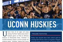 UConn Huskies / Official University of Connecticut Athletics Publications, produced by IMG College. #BleedBlue