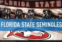 Florida State Seminoles / Official Florida State University Athletics Publications, produced by IMG College. #GoNoles