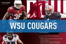 Washington State Cougars / Official Washington State University Athletics Publications, produced by IMG College. #GoCougs