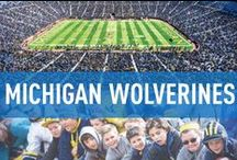 Michigan Wolverines / Official University of Michigan Athletics Publications, produced by IMG College. #GoBlue