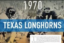 Texas Longhorns / Official University of Texas Athletics Publications, produced by IMG College. #HookEm