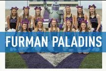 Furman Paladins / Official Furman University Athletics Publications, produced by IMG College. #PurpleRising