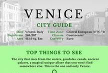 Infographic city guides by TIW / Essential City Guides by The Italian Wanderer