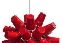 Sparkleball Cousins / light fixtures and installations that have the sparkleball spirit