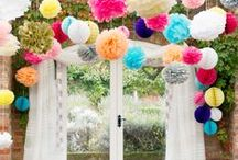 Festival Garden / Get out in the garden this summer and plan your own festival inspired party.