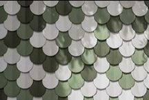 Shingle / concrete tile design by Patrycja Domanska & Tanja Lightfoot