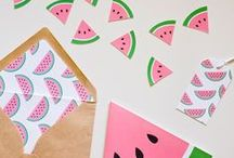 One in a (Water) Melon Party Theme / A quirky and fruity party theme will refresh your guests! Go watermelon crazy with this alternative party theme idea.