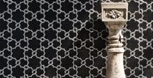 SONITE ANDALUSIA COLLECTION / The Spanish region of Andalusia has long been admired for its Moorish heritage commingling Islamic and Greco-Roman design. Sonite's Andalusia collection pays homage to this rich architectural and design tradition with an inspired range of patterned artisanal mosaics.