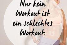 Sport / Übungen für zu Hause