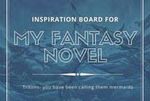 Mermaids and Mythology / Mermaids and mythology are the inspiration for my wip- a fantasy novel about tritons.