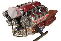 Black Cherry LS3 Engine with 4L65E Transmission / LS3 with 480 Horse Power, painted with custom Black Cherry Paint. Options include Polished Heads, Valve Covers, Oil Pan, and Concept One Victory Serpentine System. Are you looking for something special for your Hot Rod? Check us out at spsengines.com.