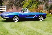 """1957 Corvette with LT1 Engine / Dale has installed a Custom Built LT1 by Southern Performance Systems with a GM """"H.O.T. Cam & Valve Train Kit. The engine was balanced & blue printed. The Heads have had minor port work & a performance valve job. The engine has been dressed up w/accessories, paint work, & polishing. Dale is running a C4 Suspension from the 1987 Corvette which was installed by a builder in California for Dale. Looking for an Engine for your Hot Rod? Visit spsengines.com"""