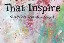 Journaling / Stuff to put in your journal/memory book.