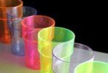Coloured / Neon Plastic Glasses