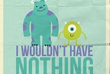 Monsters inc and cute Disney quotes