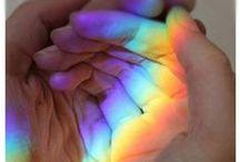 Element Wanderlust |rainbow / by Three Rivers Deep | elemental book series