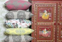Incredible India Inspiration / As chaotic, colourful and overwhelming as India can be, adding a touch of the exotic to your interiors brings an instant sense of calm, of serenity. Be soothed by these Indian inspirations.