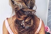 Hair / Hiusvärejä, kampauksia ym