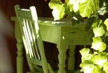 Painted Garden Furniture