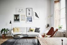 GALLERY WALLS / Inspiration and tips on how to design a gallery wall