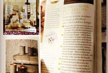 Country Living Magazine Features / Here's a selection of features I've written for Country Living Magazine entitled 'A Simple Make' where I show you how to upcycle and craft simple things for the home...