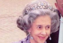 H. M. The Queen Fabiola of Belgium