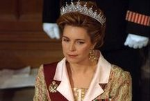 H.M. Queen Noor, the Queen Dowager of Jordan