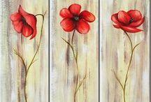 Telas,Painéis e Pinturas(Screens or Paintings) / Amo pintura em telas, seja a óleo e alguma montagem criativa.