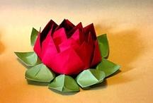 Flores / As varias formas de fazer flores em papel, tecido etc.