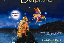 Magical Mermaids and Dolphins Oracle Cards by Doreen Virtue / The Magical Mermaids and Dolphins Oracle Cards are specifically designed to help you manifest your goals, life purpose, and Divinely inspired dreams. These 44 beautifully illustrated cards can help you swim into the ocean of your unconscious mind, where profound thoughts and feelings can create—or block—your heart's desire / by mido k