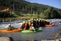 Rafting & kayak in Trentino / Il Centro #Rafting #ExtremeWaves  in #ValdiSole nasce con la forza di un'onda che raduna gli spiriti dei diversi componenti che la costituiscono.  Un mix di #sport estremi eccitanti ed avventurosi da vivere in Val di Sole, in #Trentino, sulle rive del fantastico fiume #Noce.   In sostanza, troverai in noi l'amicizia e la professionalità, che danno vita ad un' offerta unica per una vacanza attiva in Trentino.