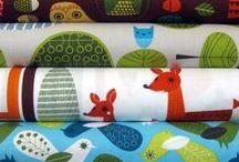 Fabric / Tecidinhos, que eu adoro! / by Isa Abreu