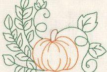 Riscos Frutas ou Legumes / Risco, gráficos ou imagens para bordar ou pintar.
