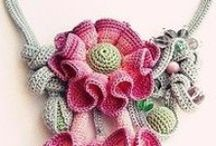 Hand made jewelry crochet